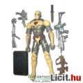 Eladó GI Joe figura - Sand Viper maszkos cobra katona figura gépfegyverekkel, felszereléssel és talppal -