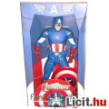 Eladó NECA 45cmes Amerika Kapitány figura - 1/4 óriás Bosszúállók / Avengers Captain America mozi film meg