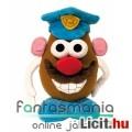 Eladó Toy Story 23cmes Krumplifej Úr / Mr Potato Head plüss játék figura - Rendőr kiegészítőkkel és tépőzá