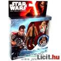 Star Wars figura - Finn Starkiller Base havasi megjelenés fegyverrel és ráadható páncéllal - VII Ébr