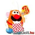 Eladó Toy Story - Krumplifej úr 15cm-es plüss szakács ruhás figura aggódó répával - Mr Potato Head / Krump