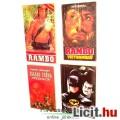Eladó Használt könyv - 4db mozi Rambo 1-2, Szabad Préda / Freejack, Batman - régi regény