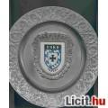 Falra akasztható tányér ónból 24 cm