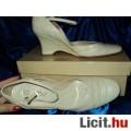 Bézs, BŐR cipő, nagyon kényelmes, AKCIÓ 16.980 Ft h.