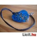 Álomszép egyedi Muránói üveg absztrakt  szív medál nyaklánccal Vadiúj