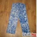 Eladó nyári kék batikolt nadrág,méret:116