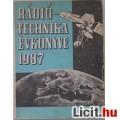 Eladó Rádiótechnika Évkönyve 1987
