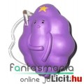Adventure Time / Kalandra Fel 5-6cm mini figura - Lumpy Space Princess alátehető talapzattal - Carto
