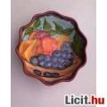 Eladó *Gyümölcs mintás kerámia kínáló tál