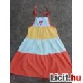 Eladó # Spagettipántos három színű nyáriruha kb.128/134-es