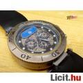 Eladó Cartier 205 Swiss twenty five 25 jewels automatic, acél tokos bőr szíj