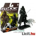 Eladó GI Joe figura - 10cm mozi Snake Eyes kabátos ninja extra-mozgatható kommandós figura Timber farkassa