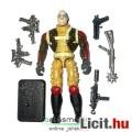 Eladó GI Joe figura - Coil Crusher Cobra zsoldos figura géppisztollyal, felszereléssel és talppal - Hasbro