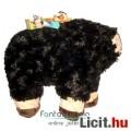Eladó 25-40cmes óriás Minecraft plüss - Fekete Bárány / Black Sheep játék figura 25cm hosszal - Új, címkés