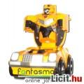 Eladó Transformers figura - Bumblebee / Űrdongó autóvá hajtható könnyen átalakítós Decepticon autó játék r