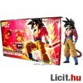 Eladó 16cm-es Dragon Ball Z figura - SSJ4 Goku / Songoku mozgatható figura építő modell szett - Bandai Fig