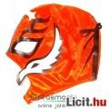 Eladó Pankráció maszk - Rey Mysterio narancs-fekete felvehető Pankrátor Maszk - Lucha / Luchardor mexikói