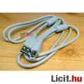 USB nyomtatókábel, AWM árnyékolt kivitel, 1,8m.