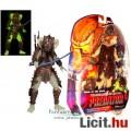 Eladó 18-21cm-es Predator figura - Stalker Predator figura levehető maszkkal, Alien-páncéllal és foszfores