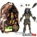 Eladó 18-21cm-es Predator figura - NECA AVP Serpent Hunter Predator Alien maszkos fejjel, karddal váll-ágy