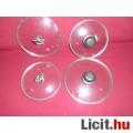 Eladó 4 db üvegfedő különböző méret