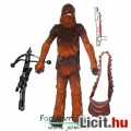 Eladó Star Wars figura - Chewbacca / Csubakka extra-mozgatható figura kétféle fegyverrel és levehet? táská