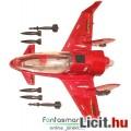 Eladó GI Joe jármű - Firebat Jet sugárhajtású repülő, rátehető rakétákkal, behajtható szárnyakkal és nyith