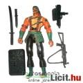 Eladó GI Joe figura - Nunchuck V3 ninja katona figura saját géppisztolyokkal, karddal és talppal - Hasbro