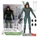 Eladó 18cm-es Green Arrow / Zöld Íjász figura csuklyás TV megjelenéssel, íjjal, nyilakkal - DC Collectible