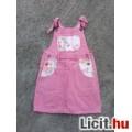Eladó *C&A Rózsaszín kantáros farmer kislányszoknya 116-os