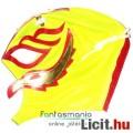 Eladó Pankráció maszk - Rey Mysterio sárga-piros felvehető Pankrátor Maszk - Lucha / Luchardor mexikói típ