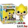 Eladó 10cmes Funko POP figura Sega Sonic - Super Sonic exclusive sárga megjelenésű nagyfejű karikatúra fig