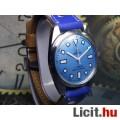 Eladó Svájci mechanikus felhúzós felújított ROAMER férfi karóra kék számlap