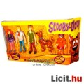 Eladó 12cm-es Scooby Doo és a Banda 5db figura ajándékcsomag szett - Szkubi kutya, Bozont, Fred, Diána és