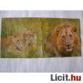 Eladó szalvéta - oroszlánok