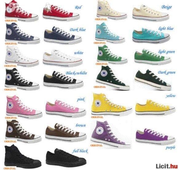 61f7572122 Licit.hu CONVERSE cipő - Nyári AKCIÓÓÓÓ!!! Az ingyenes aukciós ...
