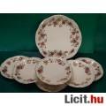 Eladó Zsolnay süteményes készlet pillangó mintával
