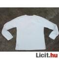 *TERRANOVA Fehér pamut férfipulóver XL-es