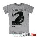 Eladó eredeti Star Wars Darth Vader póló - felnőtt L méret - hivatalos Csillagok Háborúja szürke póló Véde