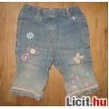 Eladó Next bébi farmer nadrág virágos hímzéssel,méret:74
