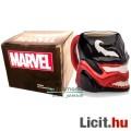 Eladó 3D Marvel dombormű bögre - Venom / Méreg Pókember ellenség fej formával, Marvel ajándékdobozban