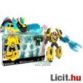 Eladó Transformers - 11cm-es Bumblebee / Űrdongó + Mini-Con / Minicon átalakítható robot figura - Autobot