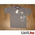 Eladó csíkos REBEL fiú póló,méret:122/128 új,blokkal