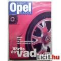 Opel Magazin 2001/3 Szeptember (Promo) Tartalomjegyzékkel :)
