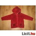 H&M bordó kapucnis kabátka (kardigán)