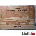Eladó Fiat-127 kezelési utasítás,holland