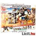 Eladó Transformers - Kre-O Devastator óriásrobottá építhető 4db Constructicon figura szett LEGO típ. robot