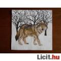 szalvéta - farkas