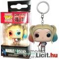 Eladó 3cmes Batman - Harley Quinn mini Pop figura kulcstartó - Suicide Squad / Öngyilkos Osztag mozi film