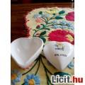 Eladó Balatoni Emlék szivecskés porcelán